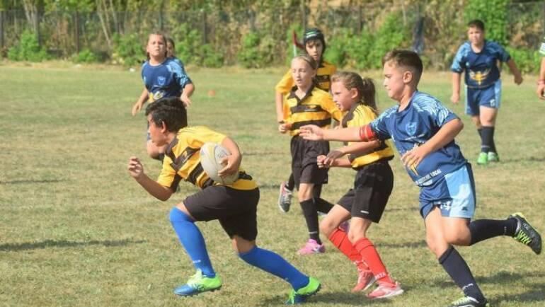 Micii rugbyști au luat parte la o nouă etapă