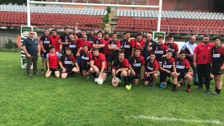 Debut cu victorie pentru rugbyști la turneul final U16