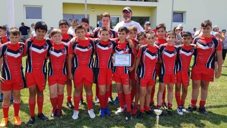 Rugbyștii au câștigat Trofeul Muntenia